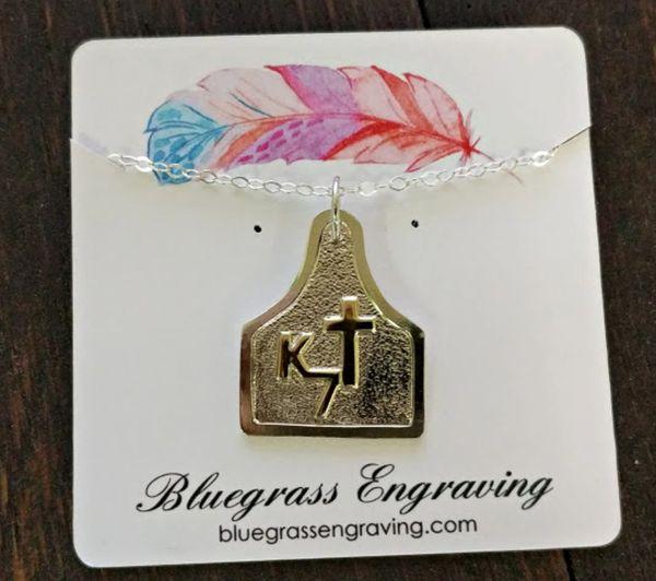 Custom brand jewelry order for Greg K.