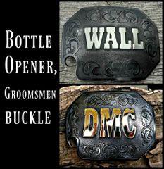 Bottle Opener Personalized Custom Belt Buckle, Men's Belt Buckle