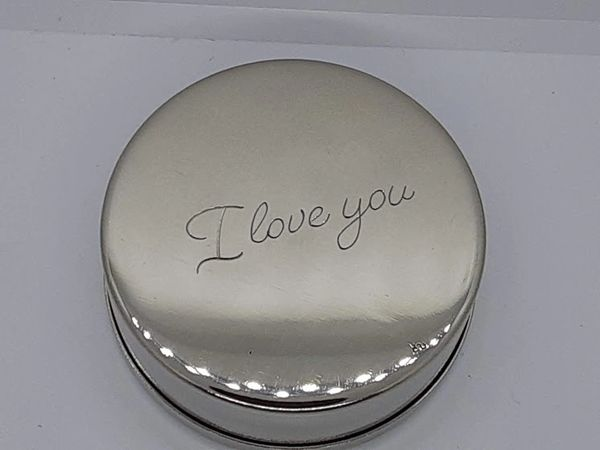 Add Engraved Inscription to Bottom of Dip Can