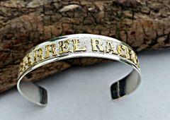 Barrel Racer Sterling Silver Cuff Bracelet