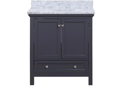 AURAFINA Harbor Blue Cunningham Bathroom Vanity