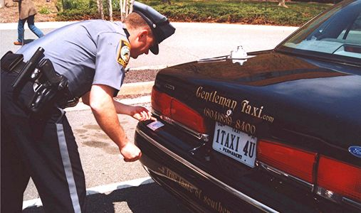 Gentleman Taxi at our very first public safety inspection back in 2003.