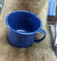 Cup - 42 OZ Enamelware Mug