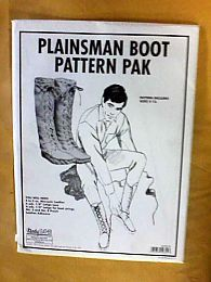 Pattern - (U) Plainsmen Boot