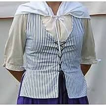 Ladies Colonial English Bodice