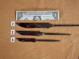 Norwegian Styled Knife Blades