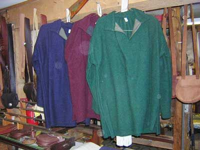 Wool Pull-Over Blanket Shirts