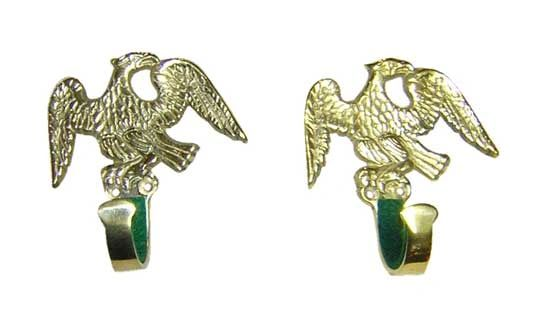 Gun Hanger- Brass Eagle *SOLD OUT*