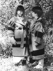 Pattern - (C) Child's Blanket Capote