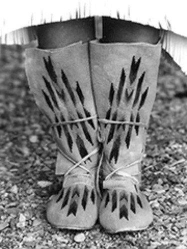 Pattern - (U) Plains Indian Hightop Moccasins