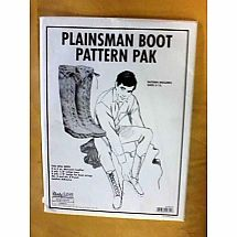 Pattern - (M) Plainsman Boot Pattern Pak
