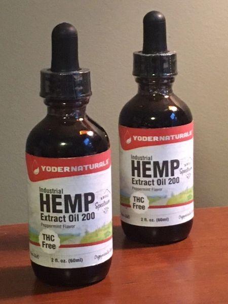 HEMP CBD Extract Oil