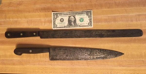 JA Henckels Twin Works Antique Knives