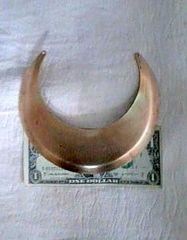Brass Gorget