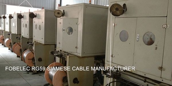 FOBELEC RG59 SIAMESE CABLE MANUFACTURER