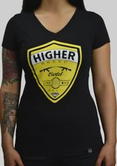 Ladies Shield Tee (V-neck)
