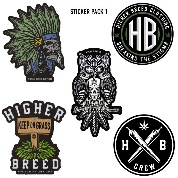 Assorted Sticker Pack 1