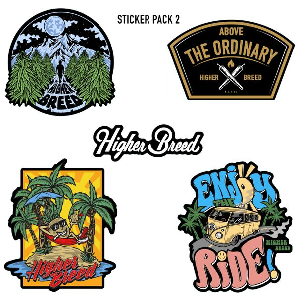 Assorted Sticker Pack 2
