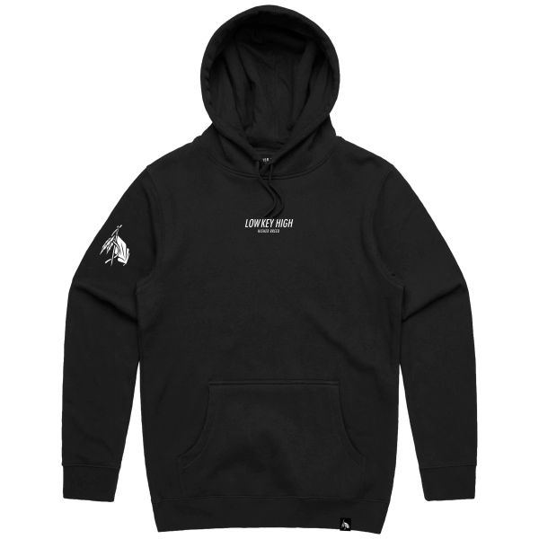 Low Key High - Hoodie - Black