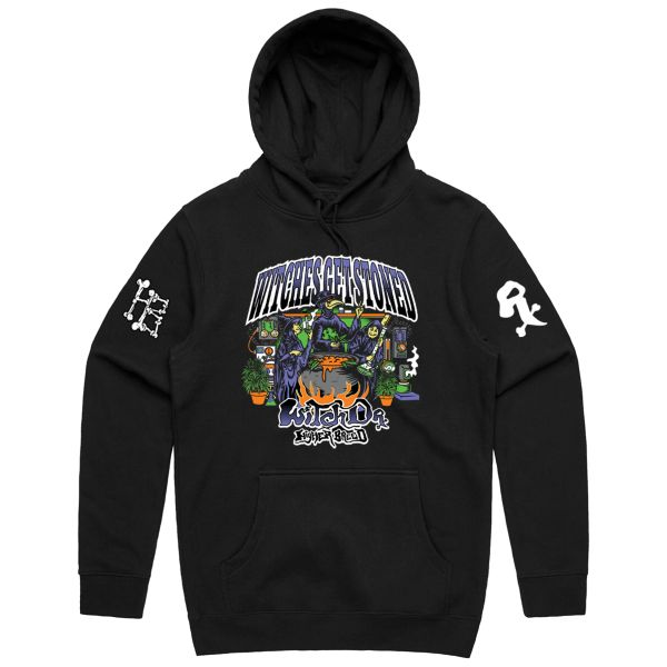 Witches Get Stoned Hoodie - Higher Breed x Witch Dr. Collab