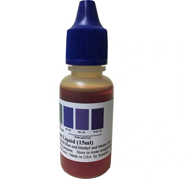 THINK ALKALINE pH test liquid (BLU/150-200 tests)