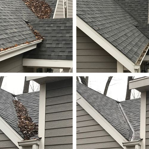 Fox River Home Improvements, LLC Gutter and roof cleaning