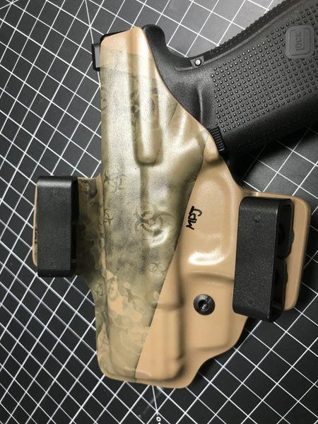 Glock 19 Gen5 Zombie holster OWB RH