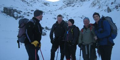 Winter Mountaineering in Glencoe