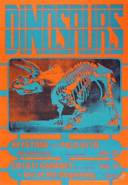 Dinosaurs poster #4 - Alton Kelley