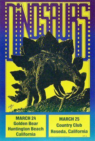 Dinosaurs poster #6 - Alton Kelley