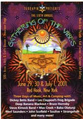 Gathering of the Vibes 2001 postcard