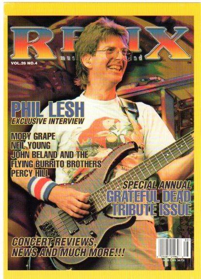 Relix Phil Lesh Postcard