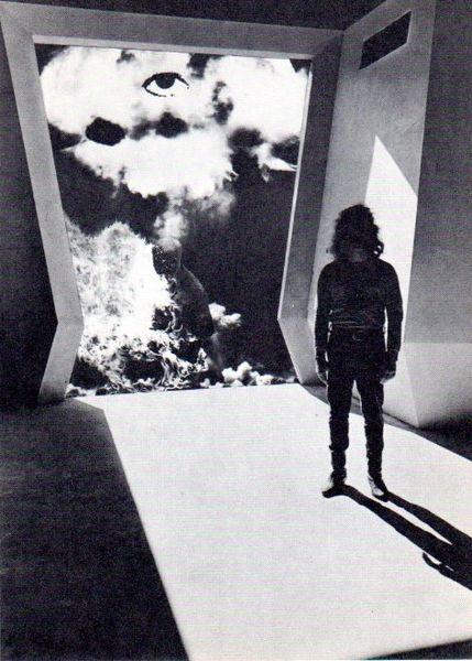 Mutant - Rick Griffin - Berkeley Bonaparte card 1967