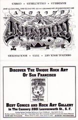 Best Comics and Rock Art Gallery - Rick Griffin 1991