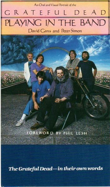 Grateful Dead handbill - Playing in the Band book promo 1985