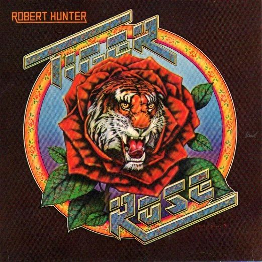 Tiger Rose album art Robert Hunter 1975