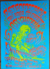 Jimi Hendrix Retrospectacle (printing error)