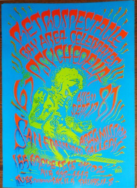 Jimi Hendrix Retrospectacle (printing error)