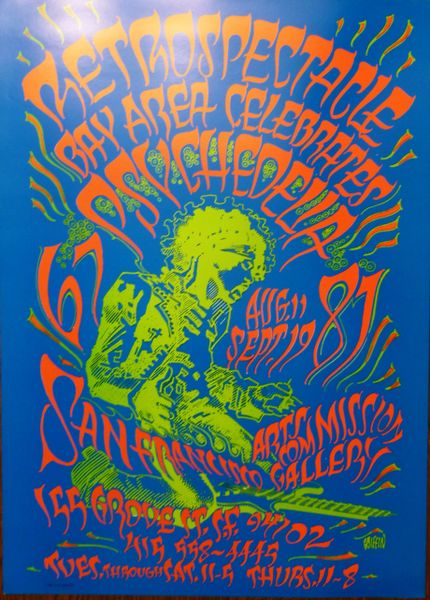 Jimi Hendrix Retrospectacle (edge bump)