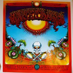 Grateful Dead - Aoxomoxoa poster - 1982 (B condition)