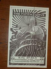Ninth Wave poster (lt green)