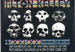 Alton Kelley gallery 1990 postcard