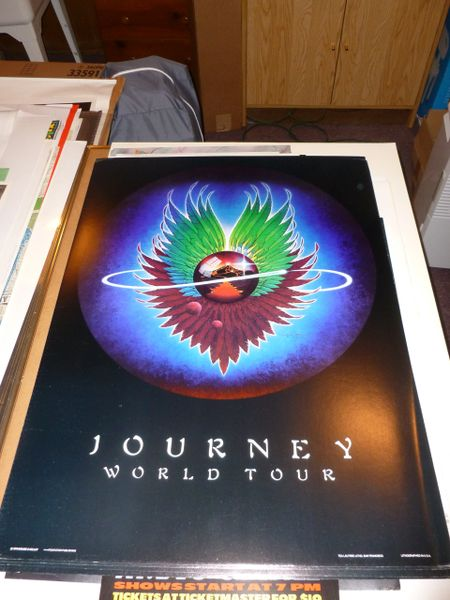 Journey World Tour 1979 Mouse & Kelley
