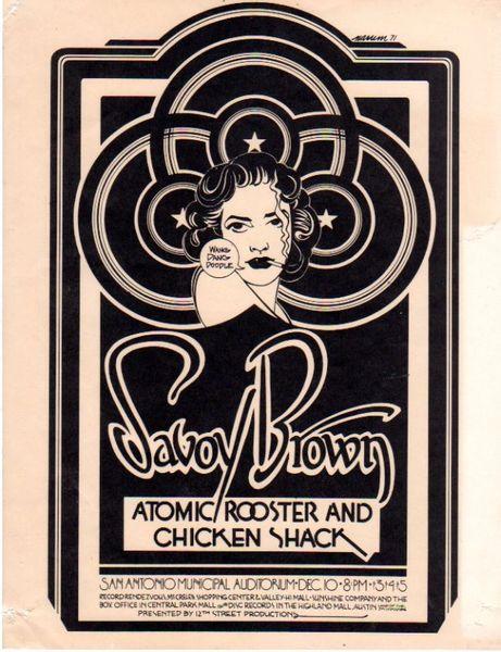 Savoy Brown 1971 by Bill Narum