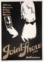 Joint Show 1986 handbill collector set