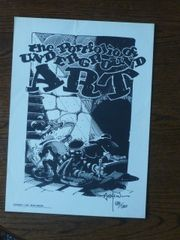 Portfolio of Underground Art - Rick Griffin signed art 588/1200
