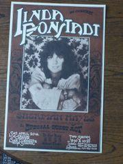 Linda Ronstadt - Rick Griffin poster 1974