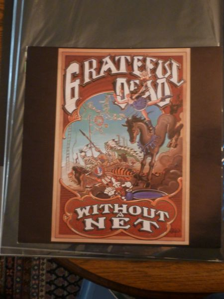 Grateful Dead - Without a Net - album flat. 1990