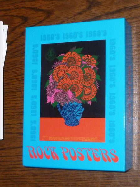 Rock Posters note cards - Museum of Modern Art 1991 box of 20