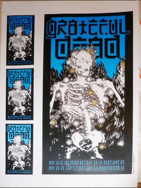 Grateful Dead Las Vegas 1994 RARE PRESS PROOF!!!!